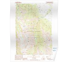 USGS Topo Map Oregon Chief Joseph Mtn 279334 1990 24000 Poster
