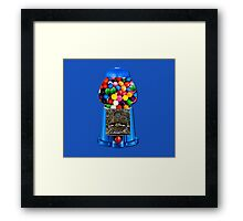 MEMORIES OF GUMBALL MACHINE >>PILLOWS,TOTE BAG,JOURNAL,MUGS,SCARF ECT.. Framed Print