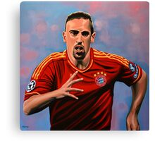 Franck Ribery painting Canvas Print
