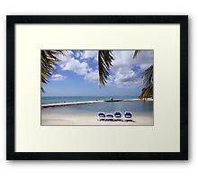 Aruba Holiday Framed Print