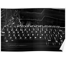 Quirky Keyboard Poster