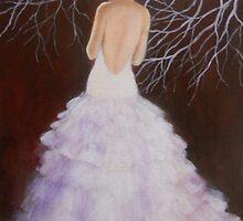 THE LADY IN WHITE by Dian Bernardo
