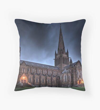 Sacred Heart Cathedral Bendigo, Australia Throw Pillow