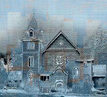 Church In Blue by CarolM
