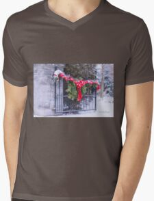 I'll Be Home For Christmas Mens V-Neck T-Shirt