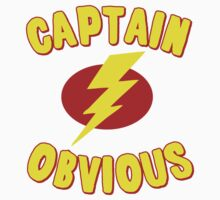 Captain Obvious T Shirt One Piece - Long Sleeve