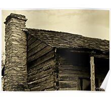 This Old Cabin - Log cabin in Anderson, Texas Poster