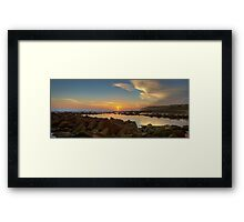South Maroubra HDR Framed Print