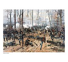 The Battle of Shiloh -- Civil War Photographic Print