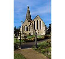 All Saints Welcome Photographic Print