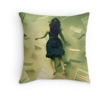 Follow The Music Throw Pillow