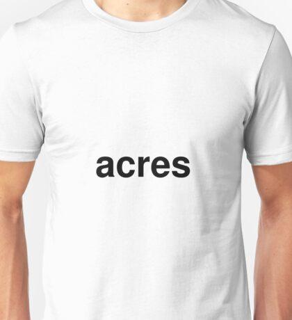 acres Unisex T-Shirt