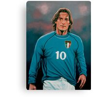 Francesco Totti Italia painting Canvas Print