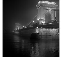 Lánchíd, Budapest Photographic Print
