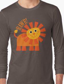 Rawr Lion Long Sleeve T-Shirt