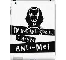 I'm not anti-social Rat VRS2 iPad Case/Skin