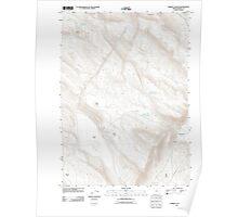 USGS Topo Map Oregon Lambing Canyon 20110831 TM Poster