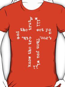 Truth Cross (Dark) T-Shirt