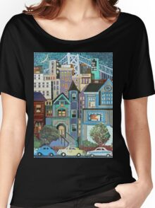 San Francisco Nights Women's Relaxed Fit T-Shirt