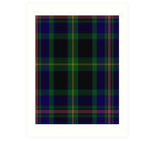 00349 Ofally County District Tartan Art Print