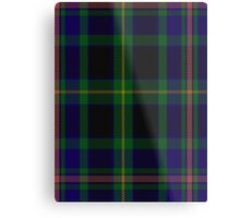 00349 Ofally County District Tartan Metal Print