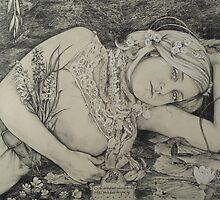 Rimbaud's Ophelia by Alice McMahon