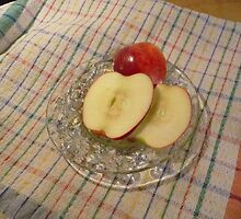 Apple  Slices by Margie Avellino