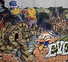 street art,Adelaide by winterland