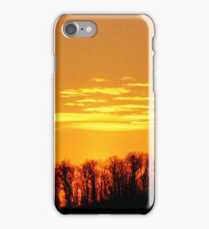 Sunset Among the Hills iPhone Case/Skin