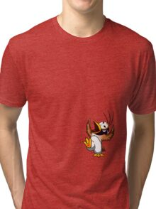 Hippo the Owl? Tri-blend T-Shirt