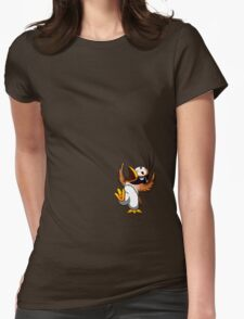 Hippo the Owl? Womens Fitted T-Shirt