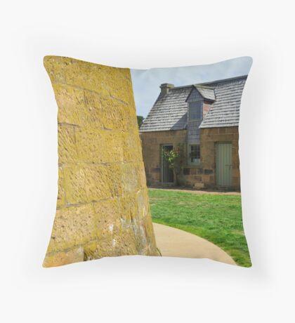 Autralia, Tasmania Heritage Buildings Throw Pillow