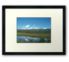 Mountain Community Framed Print