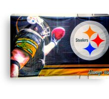 Go Steelers! Canvas Print