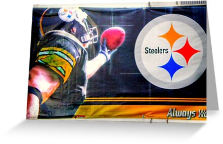 Go Steelers! by Donnie Voelker