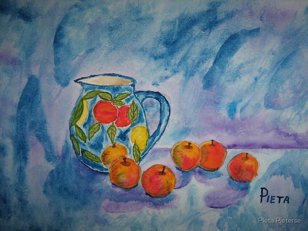 "An apple a day ... can keep the ""blues"" away! by Pieta Pieterse"