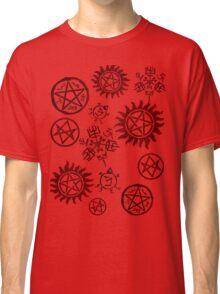 Supernatural Sigils Classic T-Shirt
