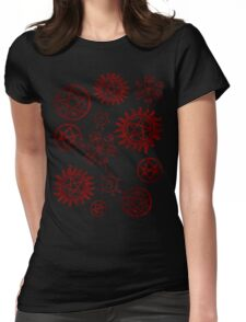 Supernatural Sigils Womens Fitted T-Shirt