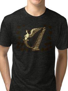 Irish Harp Tri-blend T-Shirt
