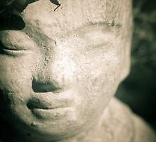 Peaceful Little Buddha by Sonja Wells
