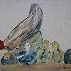 Mom's caring ... moederhen sal sorre! by Pieta Pieterse