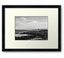Child Playing Framed Print