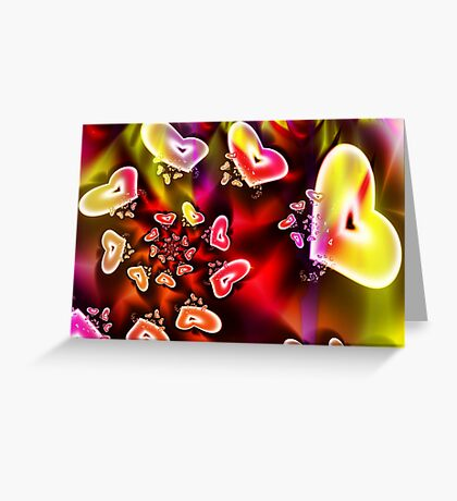 Valentine Bouquet Greeting Card