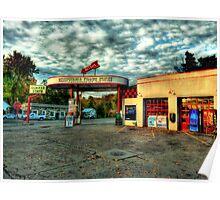 Mesopotamia Gas Station Poster