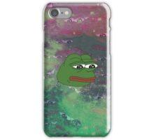 Rare Galaxy Pepe (Meme) iPhone Case/Skin