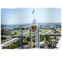 Six Flags Over Texas Poster