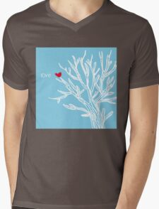 Love tree Mens V-Neck T-Shirt