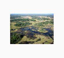 Aerial of Okavango Delta, Botswana (7) Unisex T-Shirt