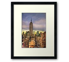 Empire State of Mind Framed Print