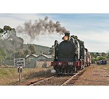 555 Steaming out of Maldon Photographic Print